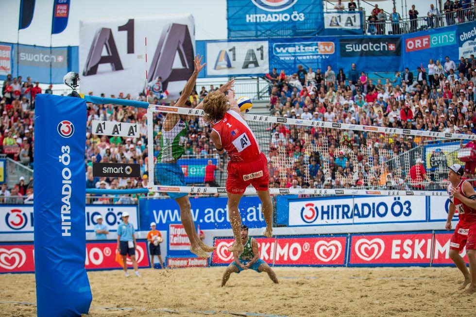 A Klagenfurt, quando il beach volley porta la spiaggia in Austria