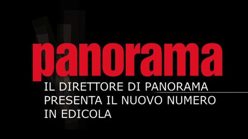 Il direttore presenta il numero di Panorama in edicola