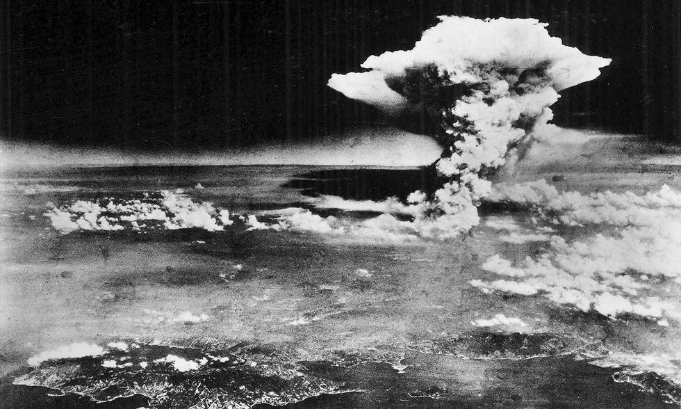 Il fungo della bomba atomica
