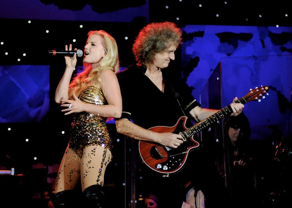 Brian May e Kerry Ellis: sei concerti in Italia a febbraio