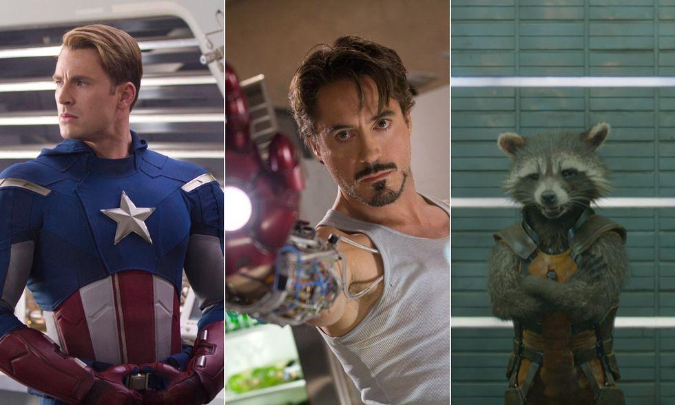 The Avengers, Iron Man, Guardiani della galassia