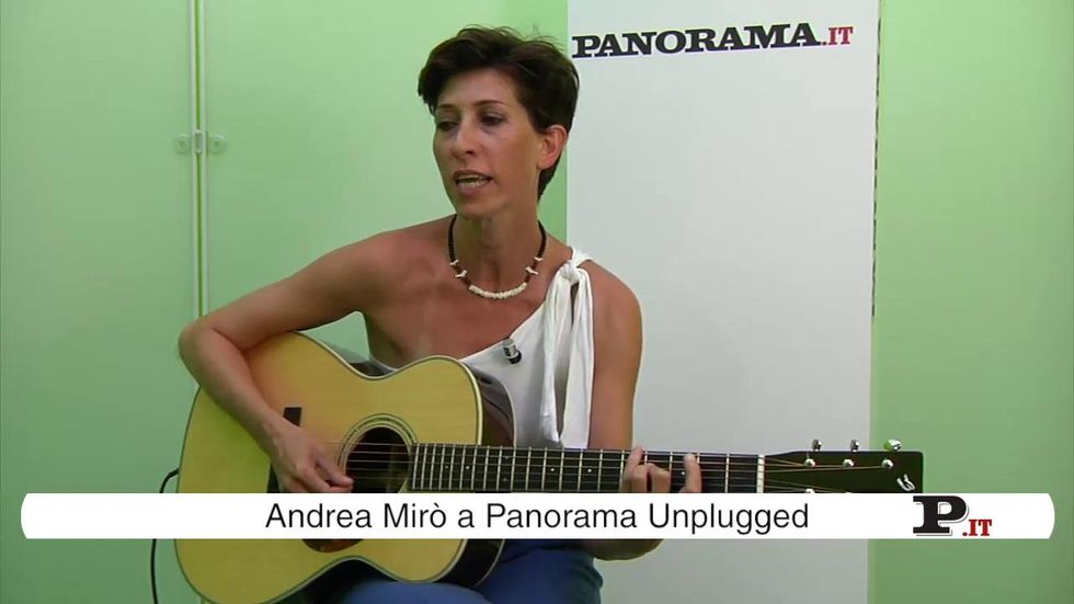 Andrea Mirò a Panorama Unplugged – video