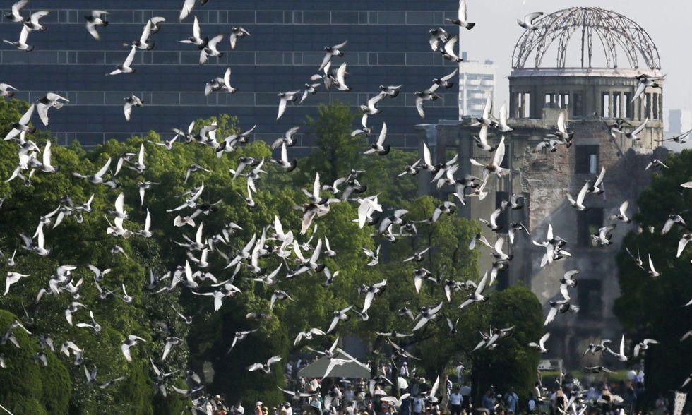 Hiroshima, 70° anniversario commemorazioni