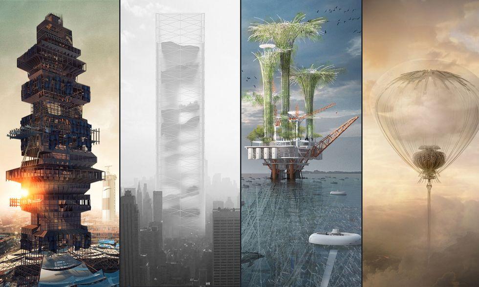 Grattacieli avveniristici: verso un futuro in verticale