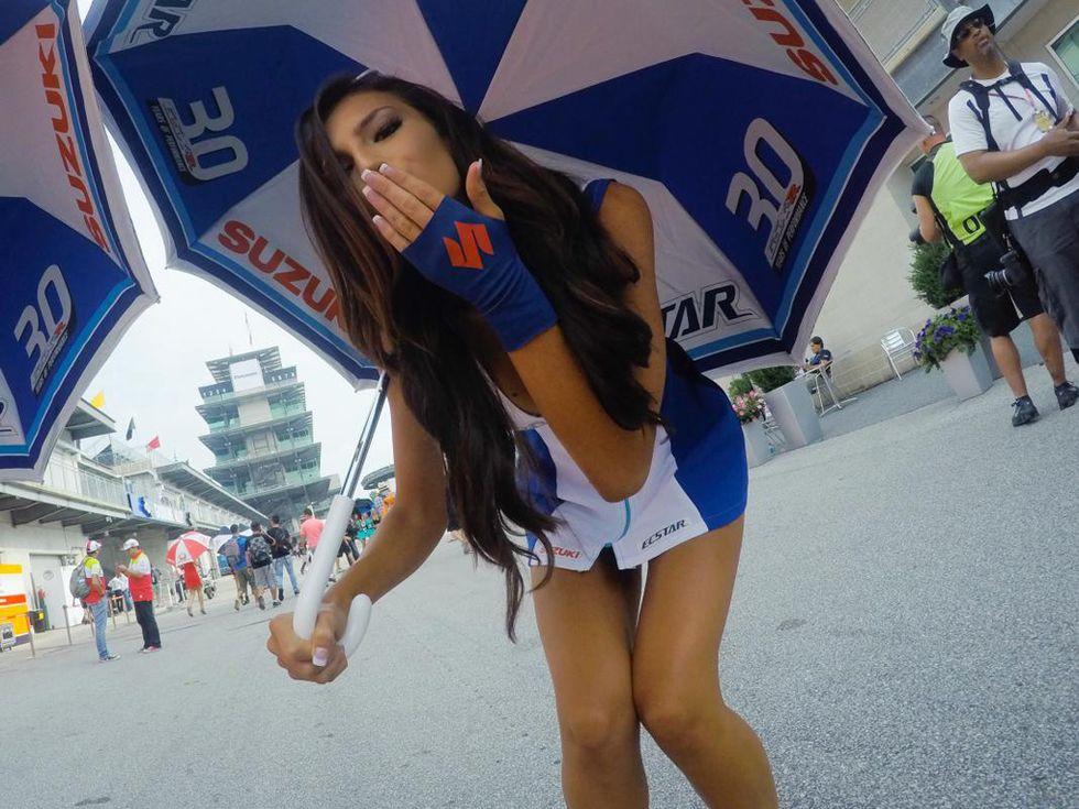Grid Girls: MotoGP di Indianapolis
