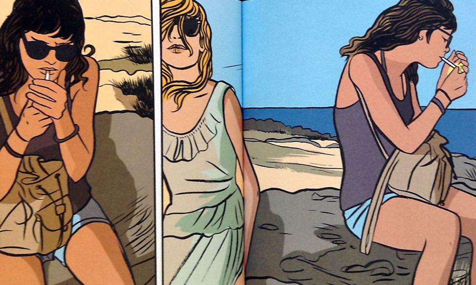 Cronaca a fumetti di un'estate siciliana