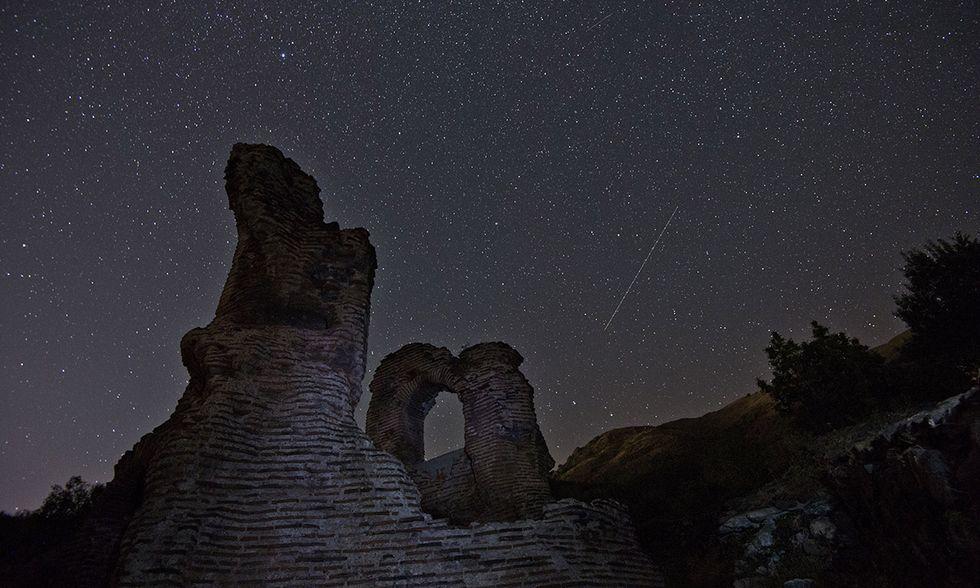Le stelle cadenti in Bulgaria