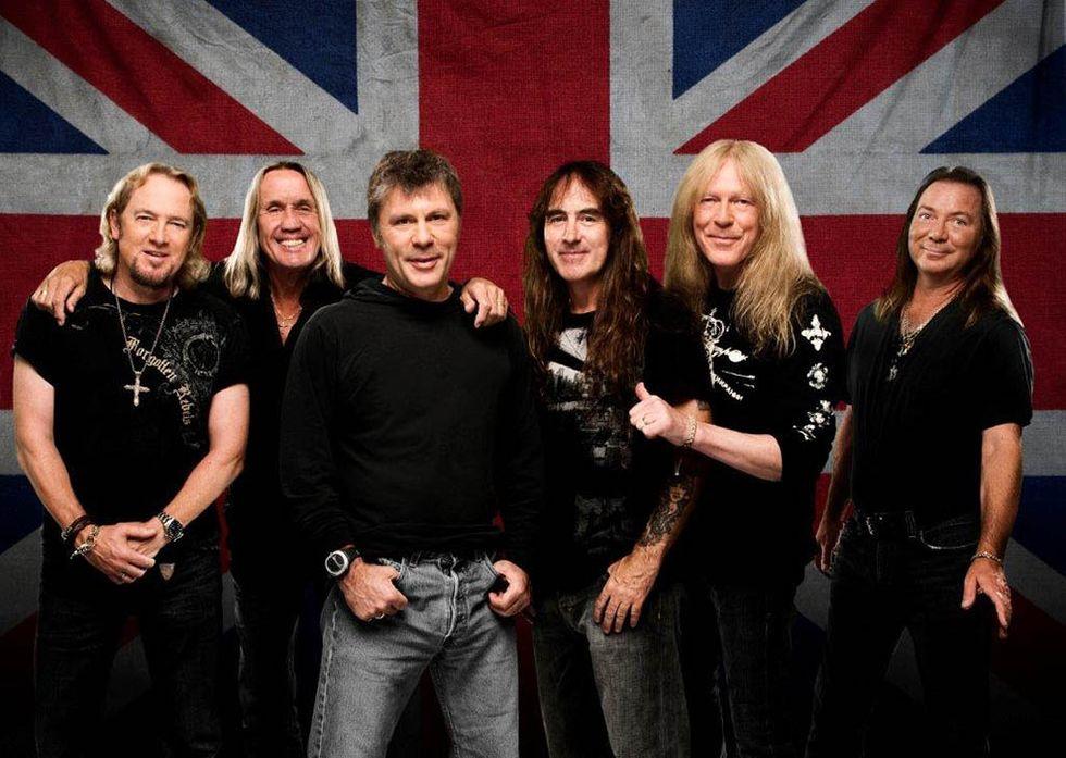 "Iron Maiden: il video di ""Speed of light"""