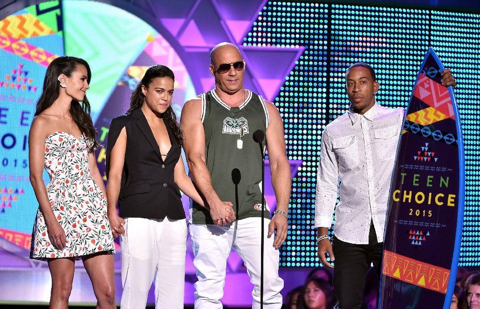 teen choice awards 2015 Vin Diesel