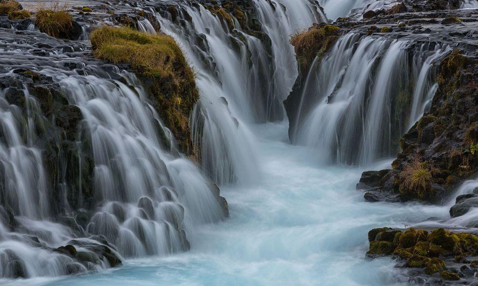 La cascata di Bruarfoss, Islanda