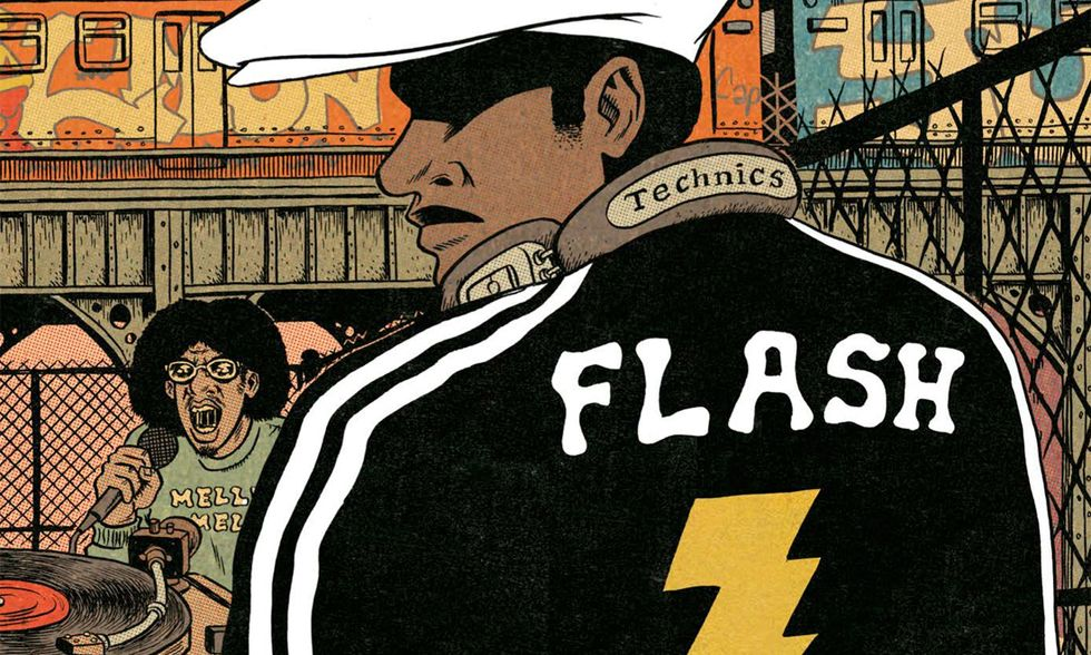 'Hip Hop Family Tree': storia a fumetti di hip-hop e rap