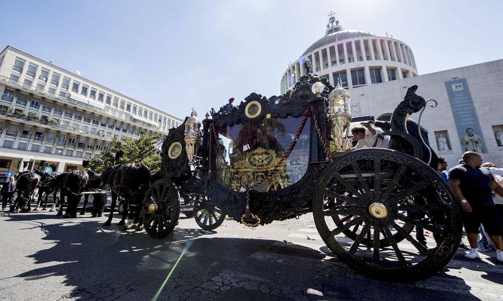 Funerali del boss Vittorio Casamonica, Roma