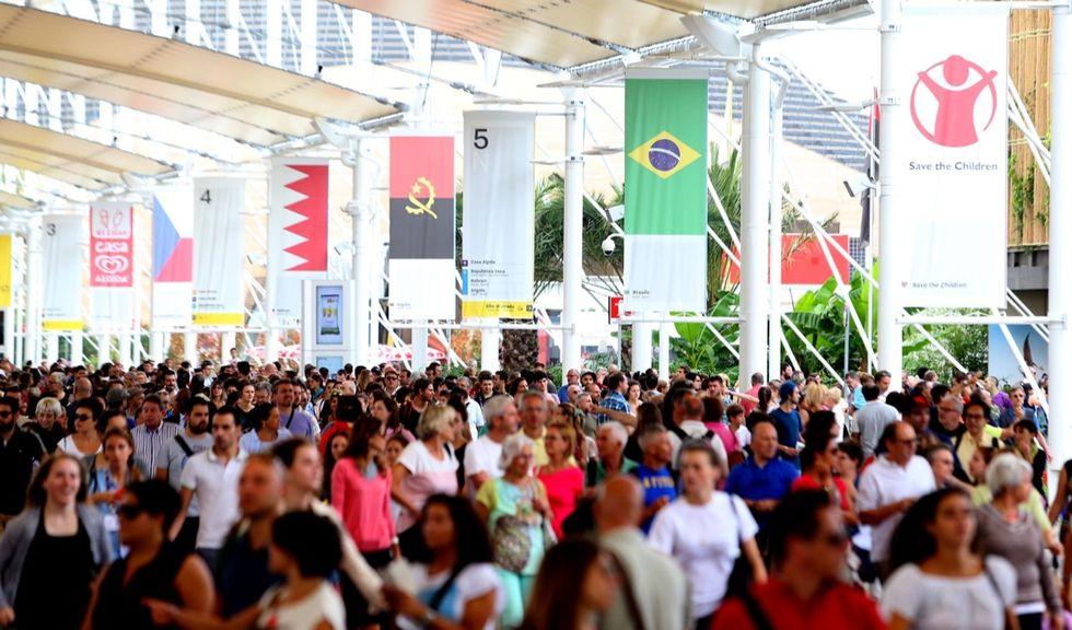 Expo di Milano: visitatori stranieri al di sotto delle aspettative
