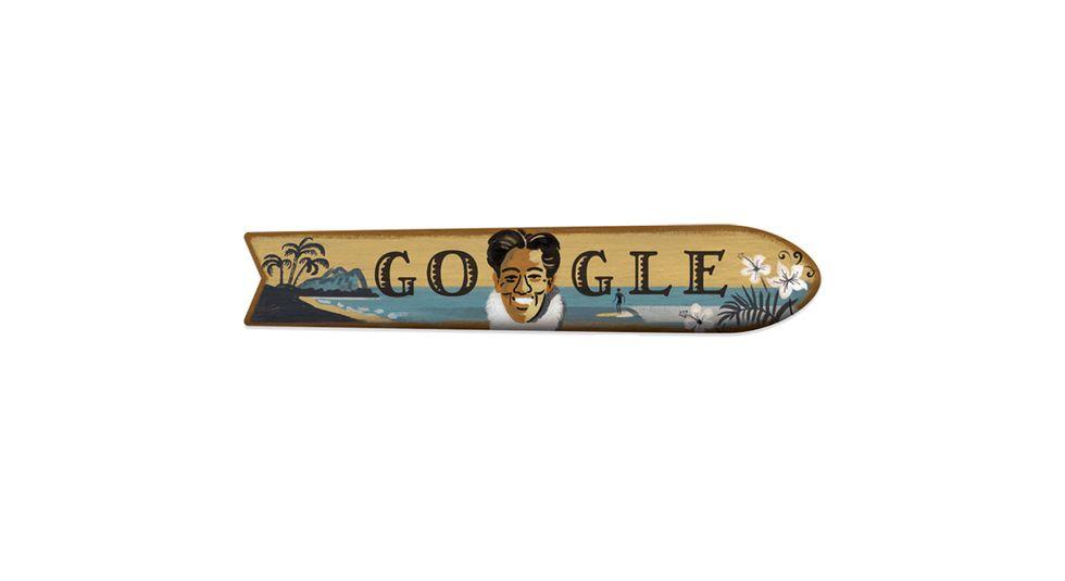24 agosto: il Doodle di oggi dedicato all'inventore del surf