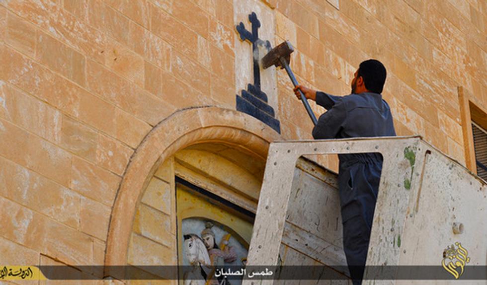 L'Isis e la guerra contro la cultura