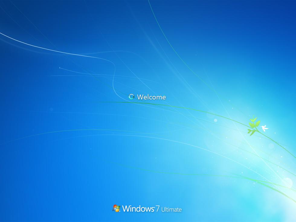 windows 7 avvio