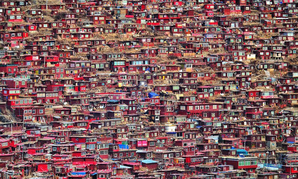 Larung Gar, Sichuan, Cina - Christian Lindgren