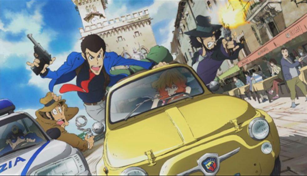 Lupin III torna con una nuova serie ambientata in Italia