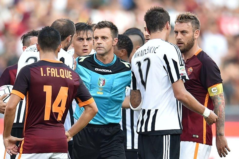 2a giornata - Rizzoli sbaglia Roma-Juve: quanti errori