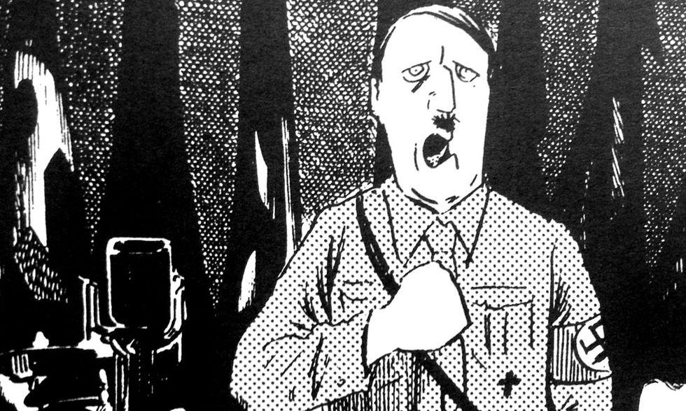'Hitler' di Shigeru Mizuki