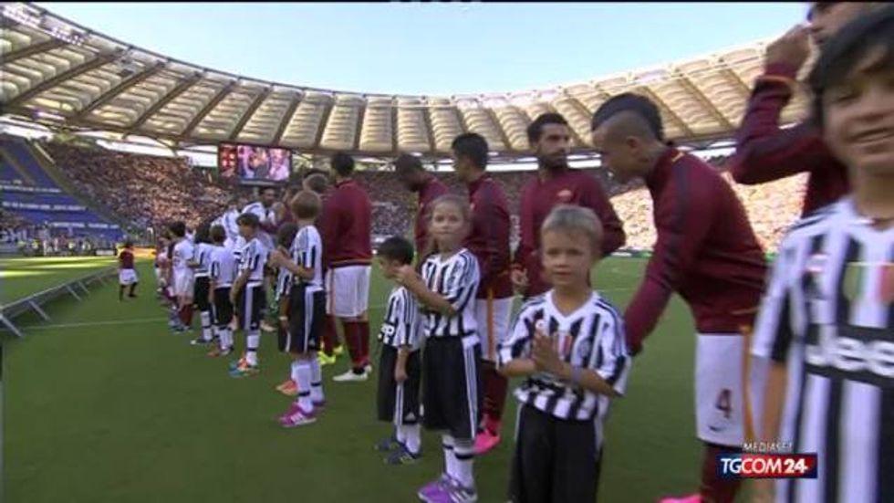 I gol di Roma-Juventus 2-1
