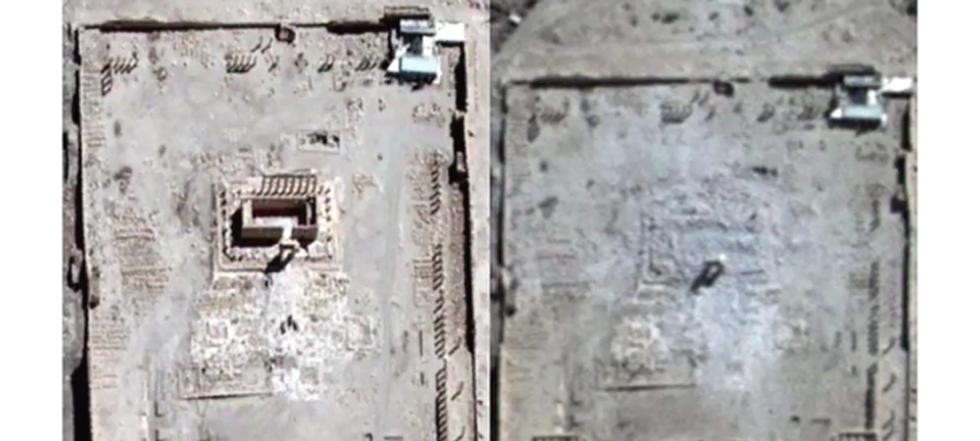 L'Isis distrugge il tempio di Baal a Palmira