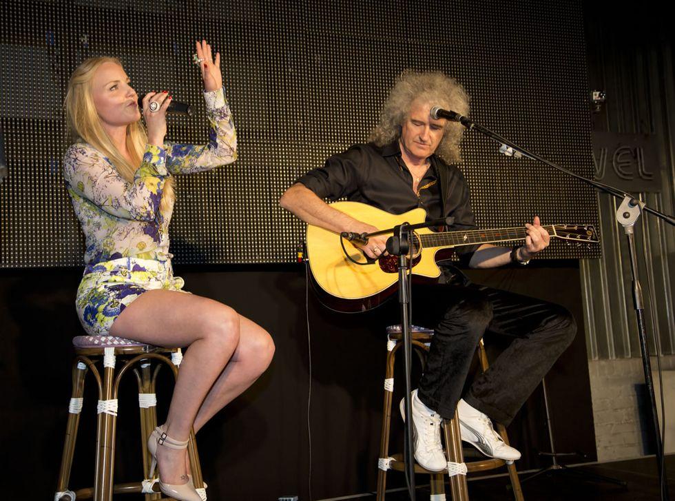 """Brian May e Kerry Ellis:""""Ci uniscono la musica e le lotte per gli animali"""""""
