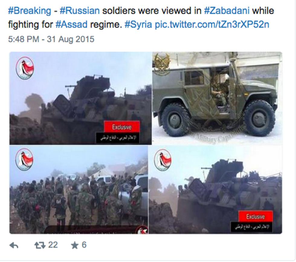 Siria, truppe e aerei russi con l'esercito di Assad