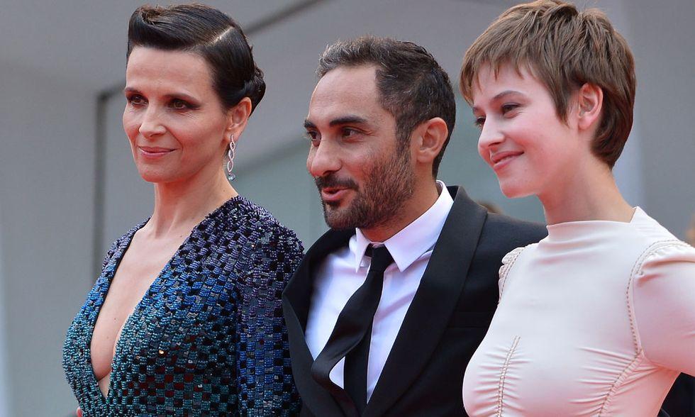 Juliette Binoche, Piero Messina e Lou de Laâge