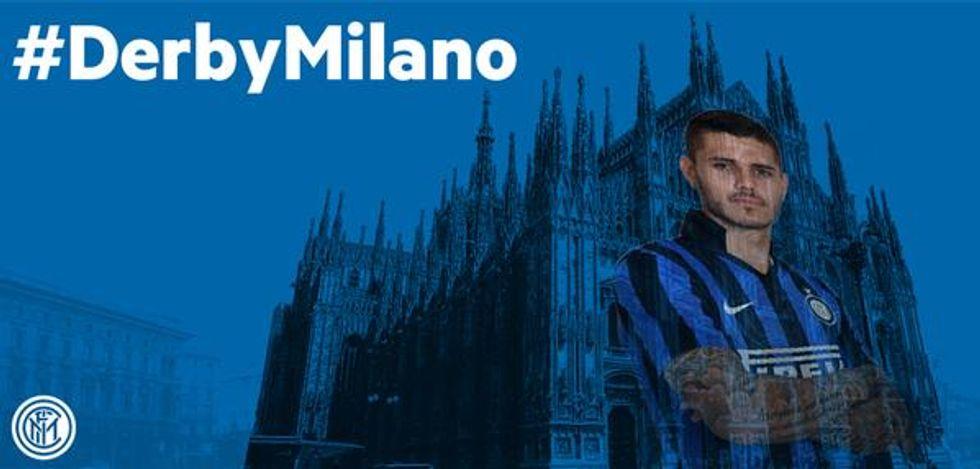 Inter e Milan insieme per promuovere il #derbyMilano