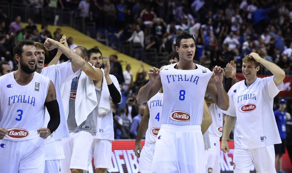 Europei basket, impresa Italia a Berlino: 89-82 sulla Germania