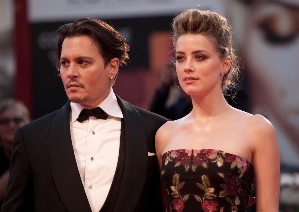 Johnny Depp e Amber Heard, matrimonio finito