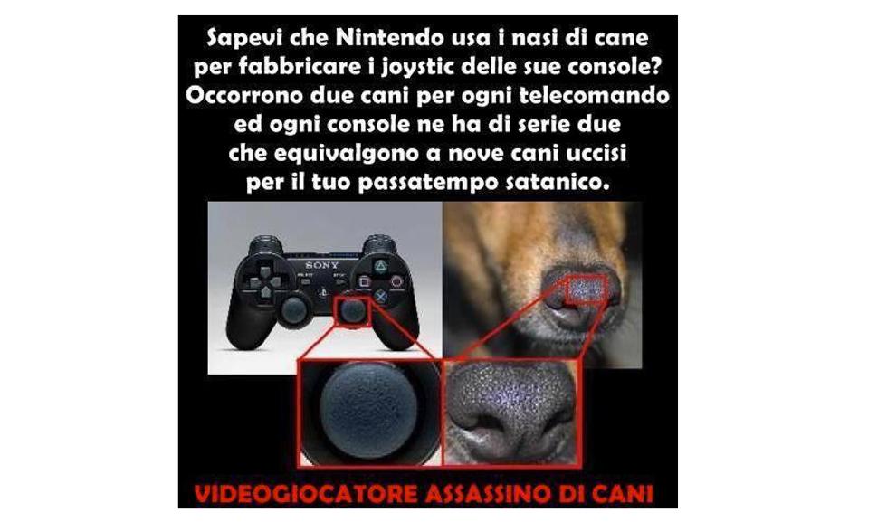 Naso cane Nintendo