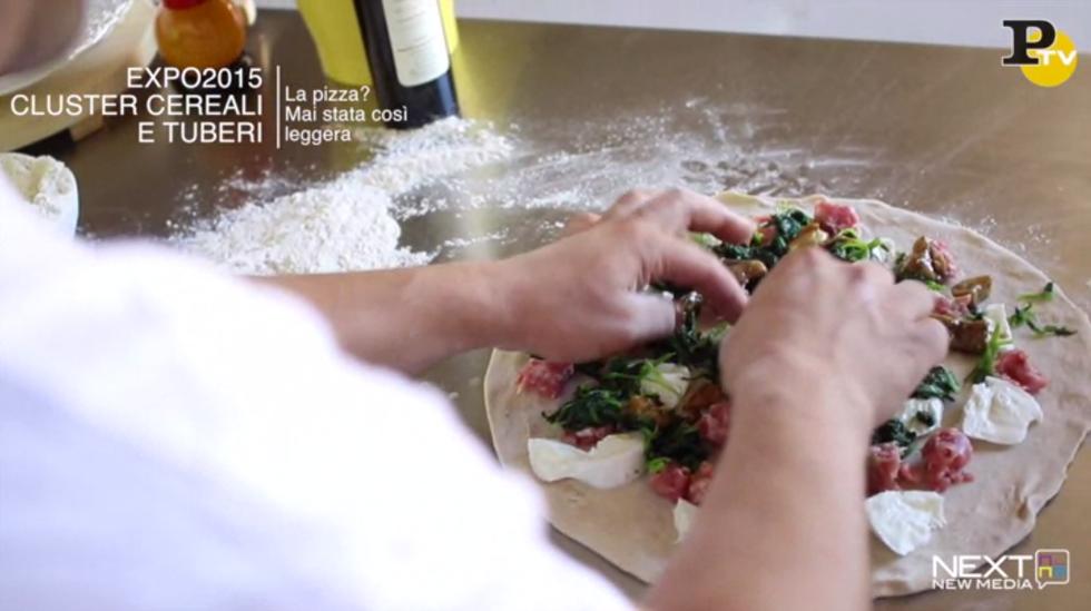 ricetta pizza leggera