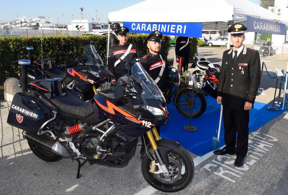 Anche i Carabinieri alla MotoGP di Misano