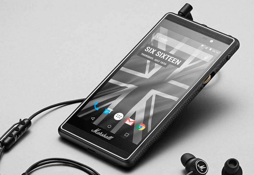 Marshall London: lo smartphone che le suona a tutti