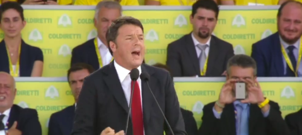 "Renzi: ""Basta denigrare la nostra Italia"""