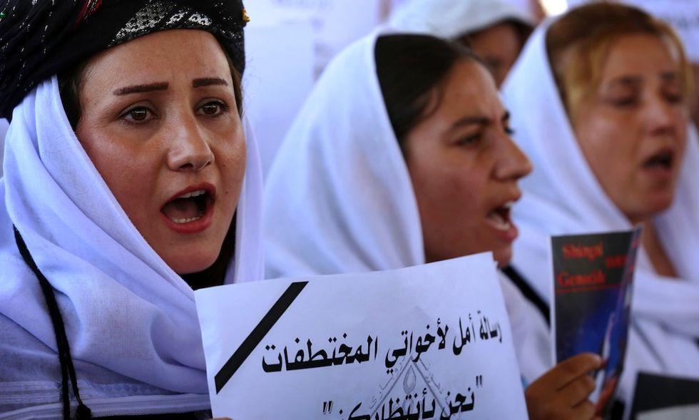 donne yazide isis iraq siria