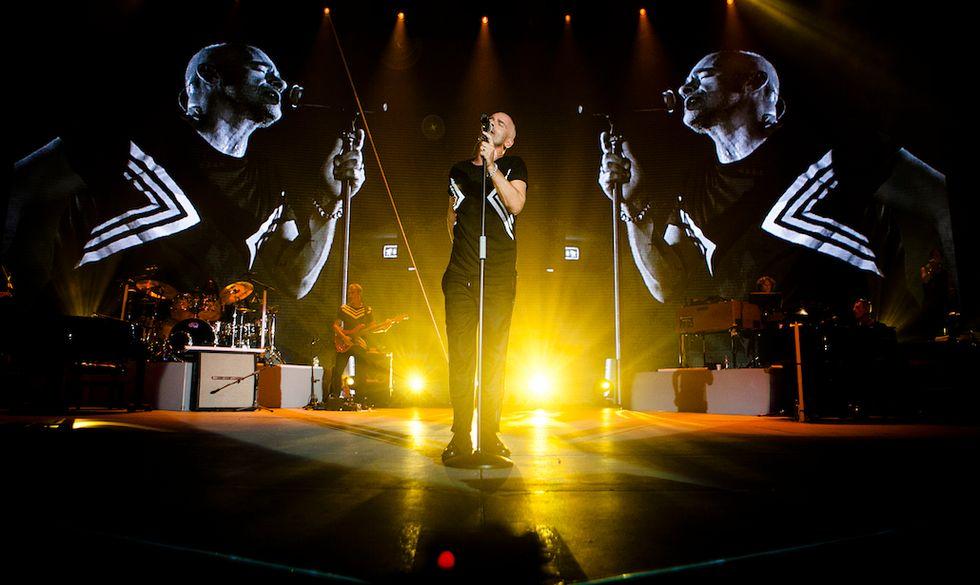 """Eros Ramazzotti nel """"Perfetto World Tour"""""""