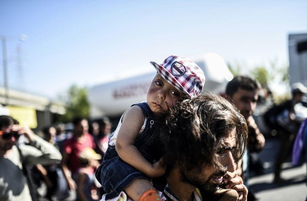 rifugiati migranti bambini turchia