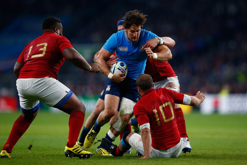 rugby italia francia