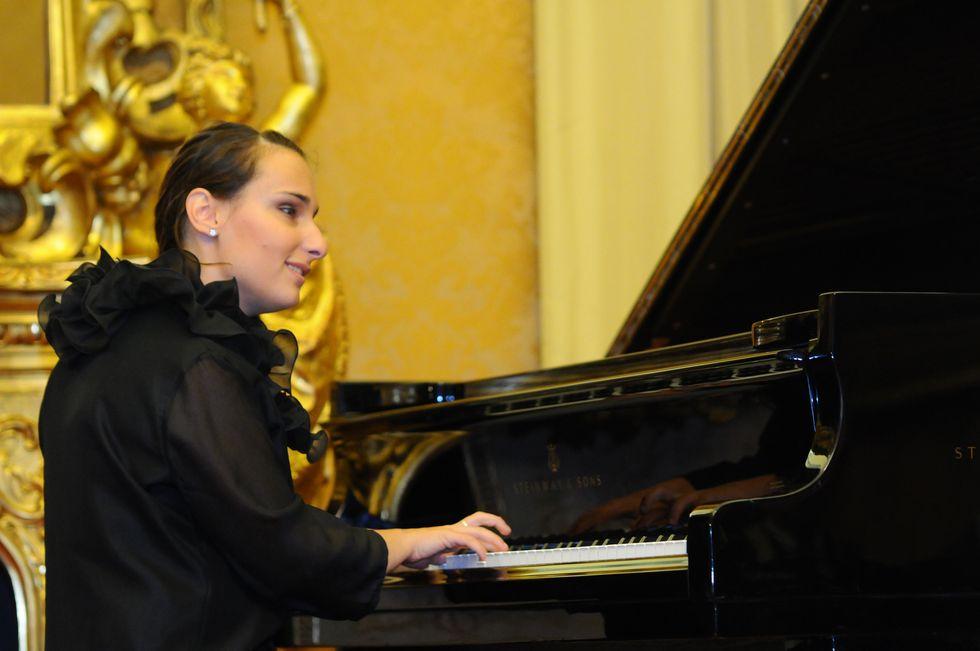 La pianista che vede con le note
