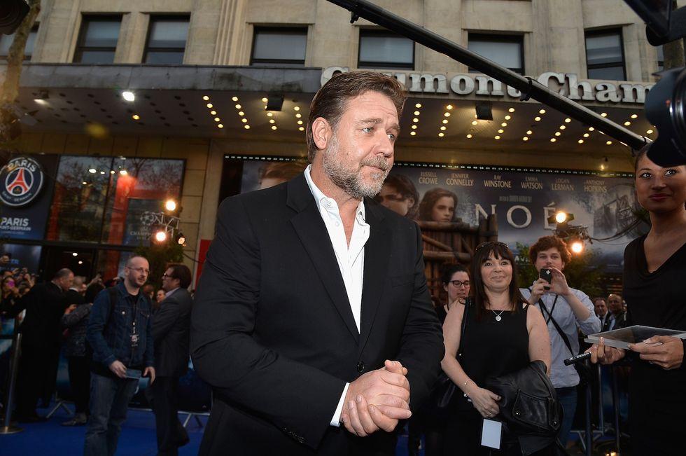 Russell Crowe e l'amico con un passato da star nel rock