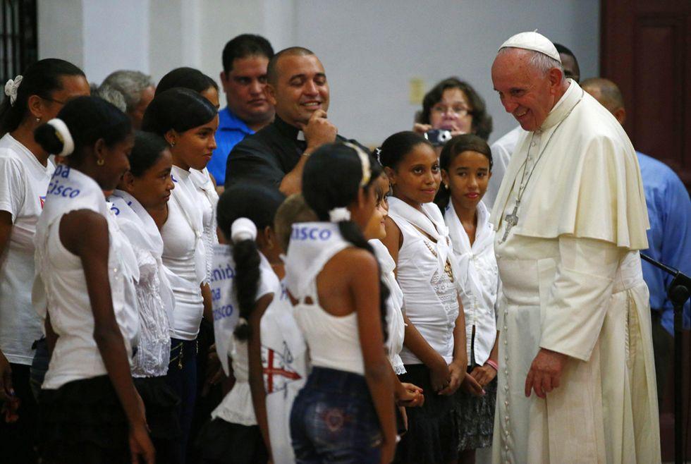 Ultimo giorno del Papa a Cuba prima di volare negli Usa