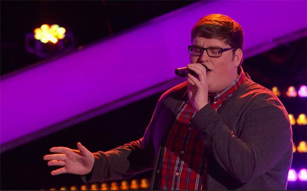 The Voice Usa: standing ovation per Jordan Smith che canta Sia