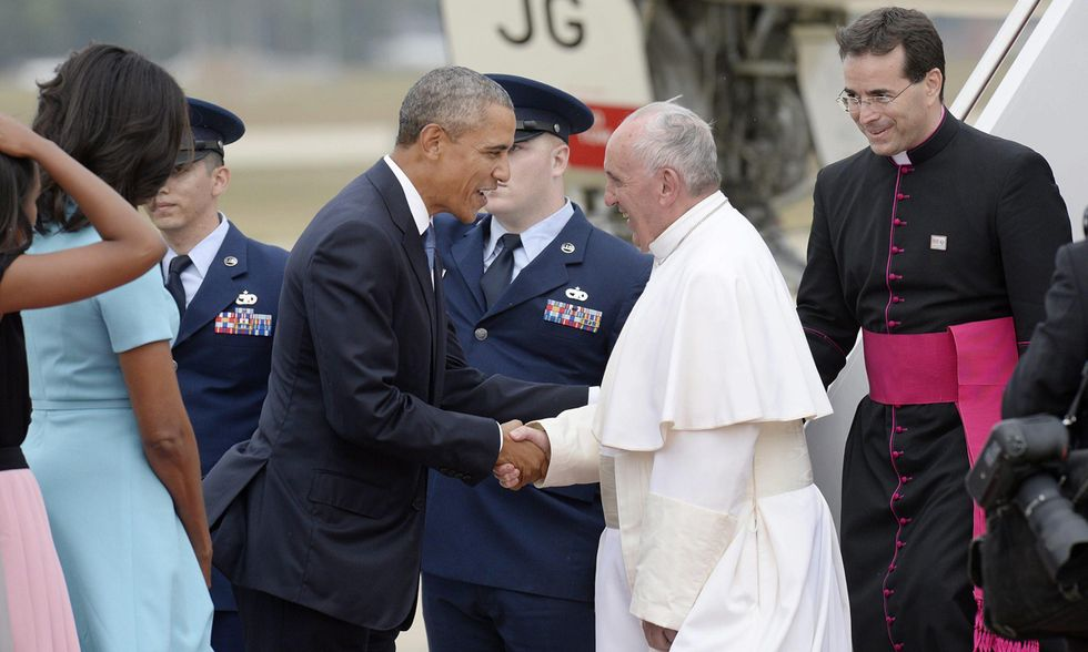 Papa Francesco con Barack Obama