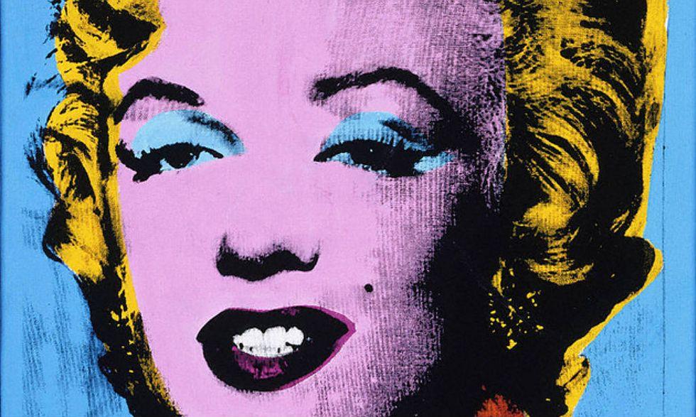 Warhol's Blue Marilyn