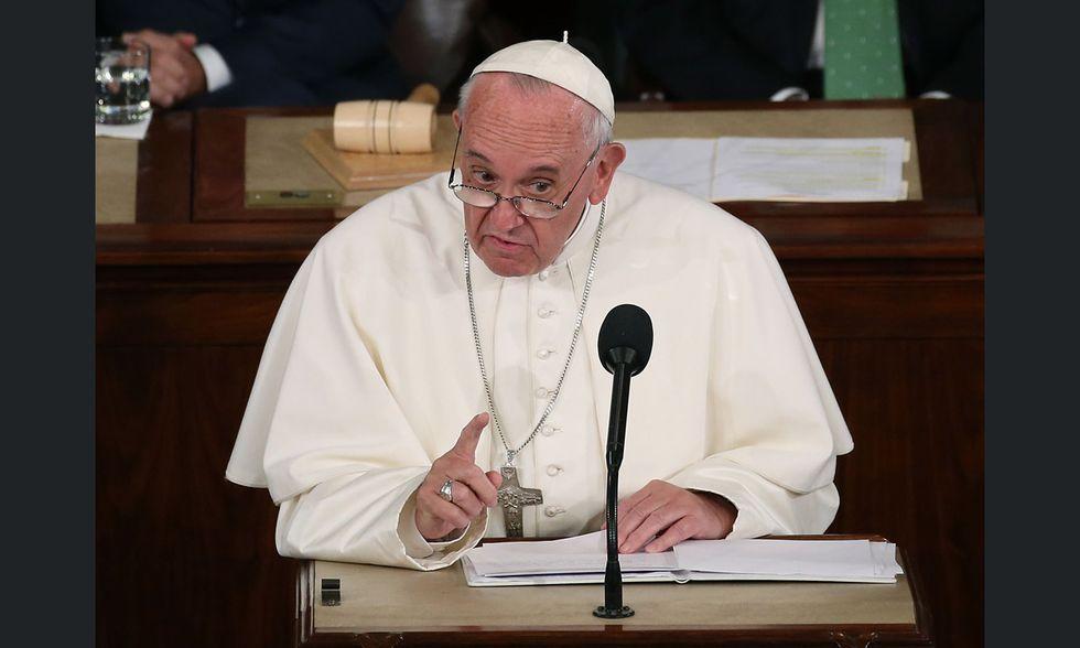 Papa Francesco al Congresso USA