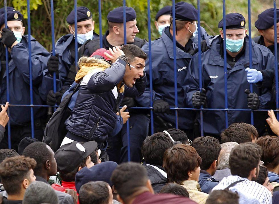 migranti rifugiati serbia croazia