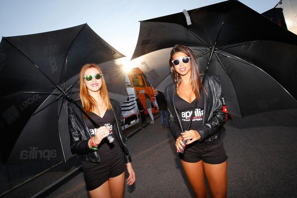 Grid Girls: MotoGP di Aragon